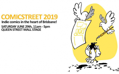 Brisbane's Indie Comic Market: Comicstreet 2019
